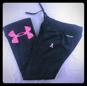 🔥🔥SOLD🔥🔥Under Armour YMD Girls Cancer PANTS